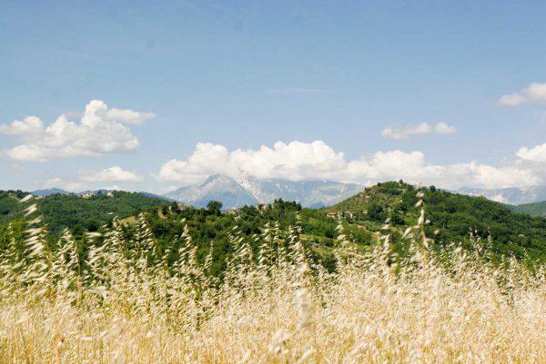 Il monte Vettore, cima più alta dei Sibillini